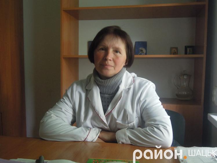 Ольга Цвид 30 років працює завідувачкою ФАПу села Підманове