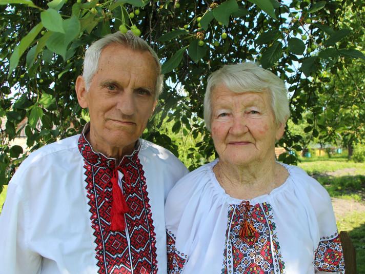 Подружжя Семенюків відзначило 60-у річницю шлюбу
