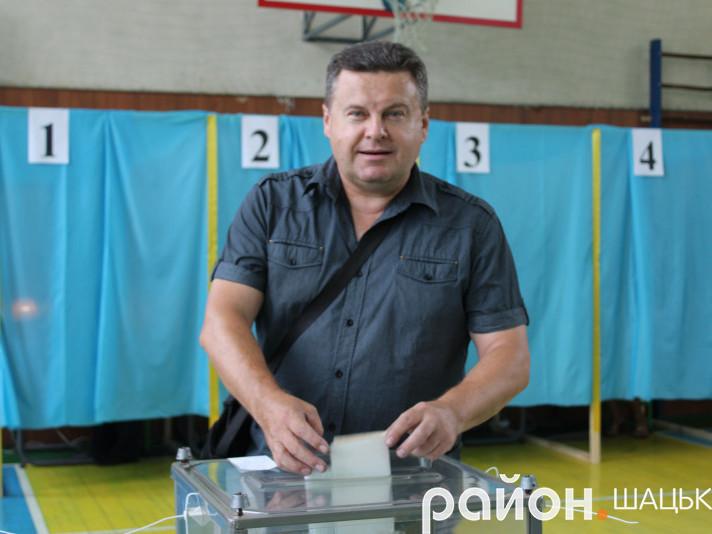 В Шацькому районі відбулисядострокові парламентські вибори