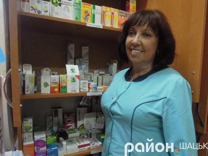 Марія Лончук 33 роки присвятила роботі в сфері