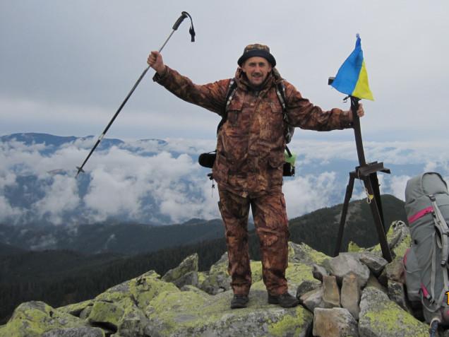 Віталій Корнелюк не уявляє свого життя без гір