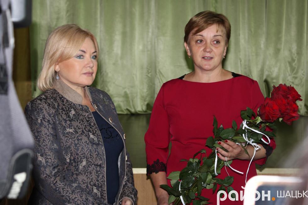 Оксана Білозір і Людмила Цевух
