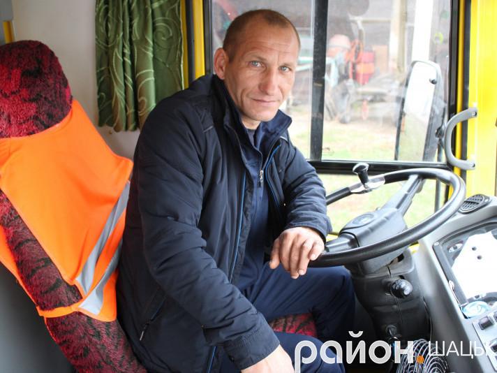 Сергій Забродоцький кермо випускає з рук тільки вночі