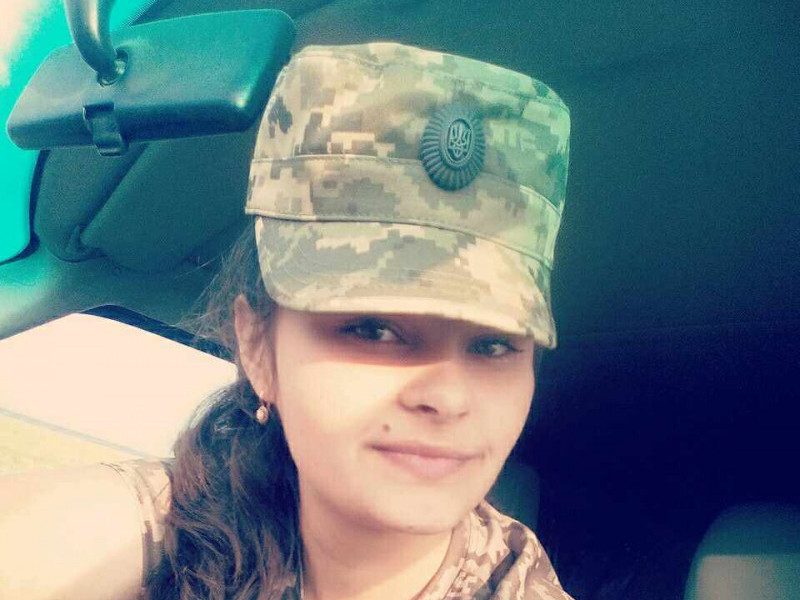 Катерина Омельчук пів року тому підписала контракт на військову службу