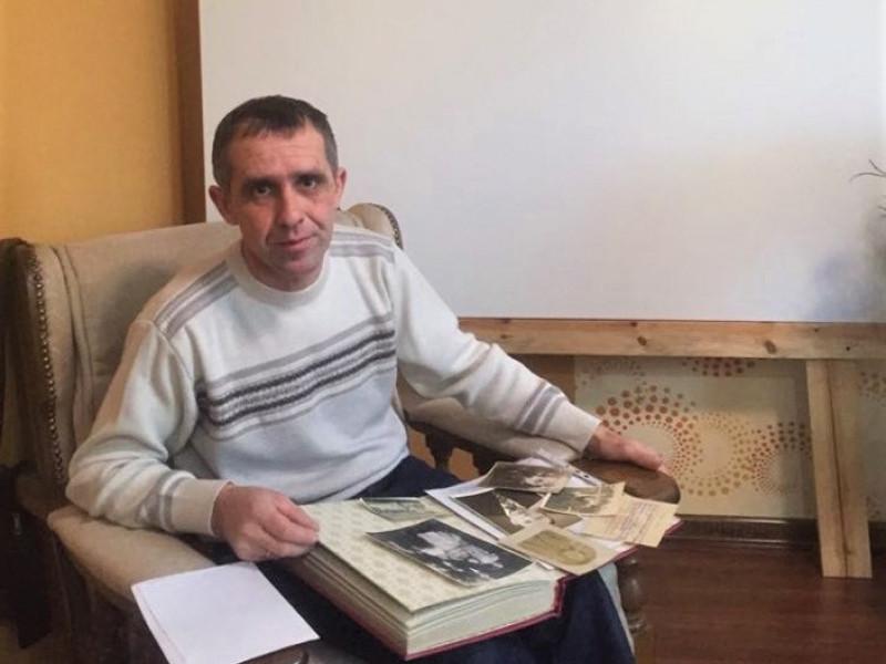 Шачанин Геннадій Дзядук вирішив відновити усі гілки родинного дерева