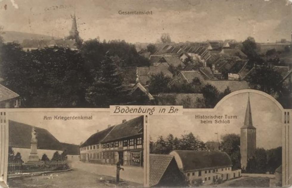Листівка із зображенням німецьких міст початку XX століття
