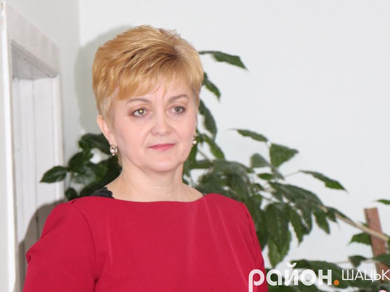 Виконуюча обов'язки голови Шацької ОТГ Людмила Цевух