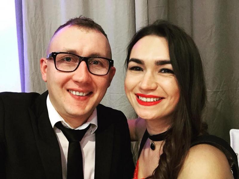 Олеся з чоловіком Олександром