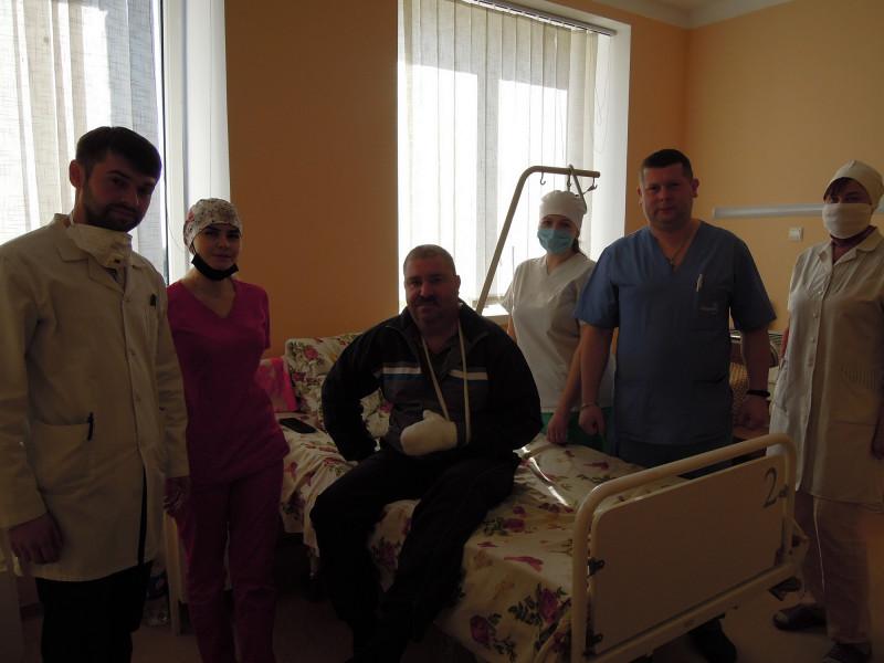 Чому до Любомльських травматологів їдуть оперуватися з сусідніх районів