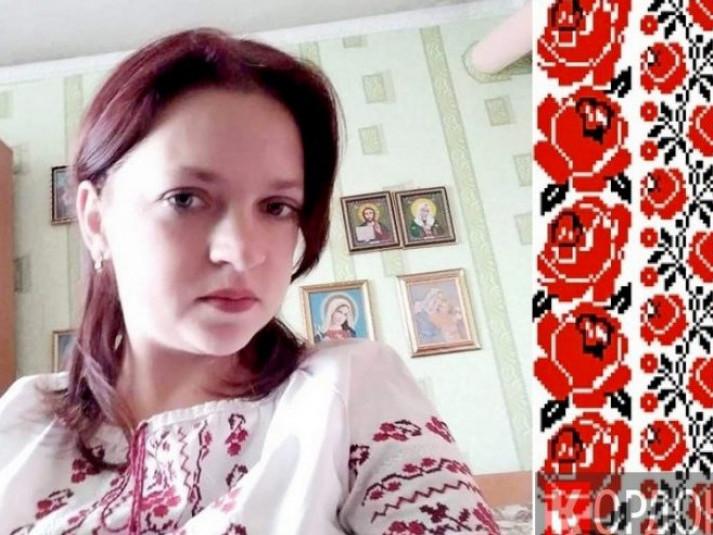 Юлія Ковальчук - майстриня-вишивальниця з Шацька