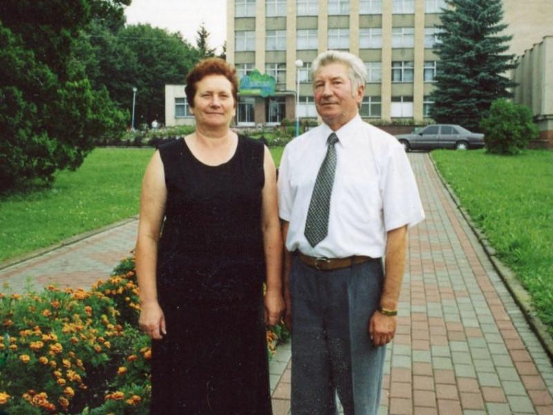 Михайло Федун з дружиною Вірою