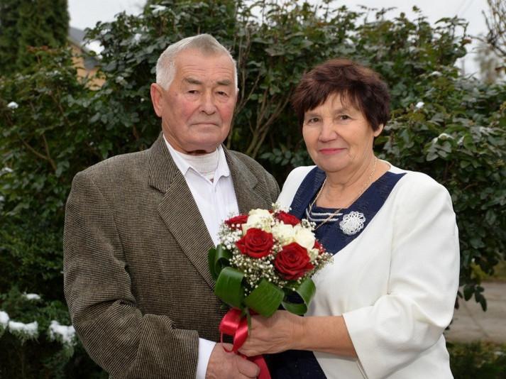 Анатолій Миколайович і Галина Хомівна в парі вже майже 54 роки