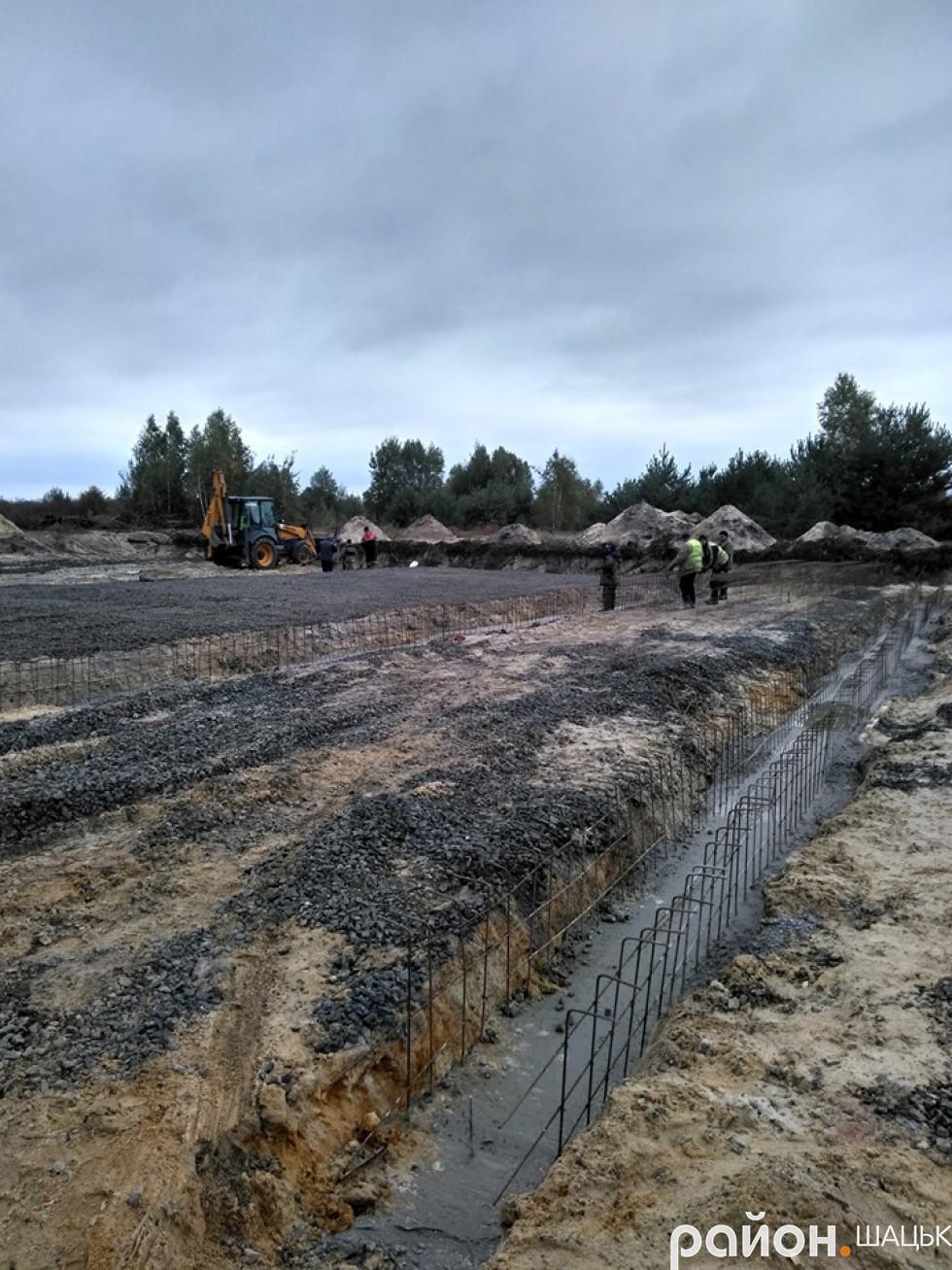 Будівництво очисних споруд у Пульмі