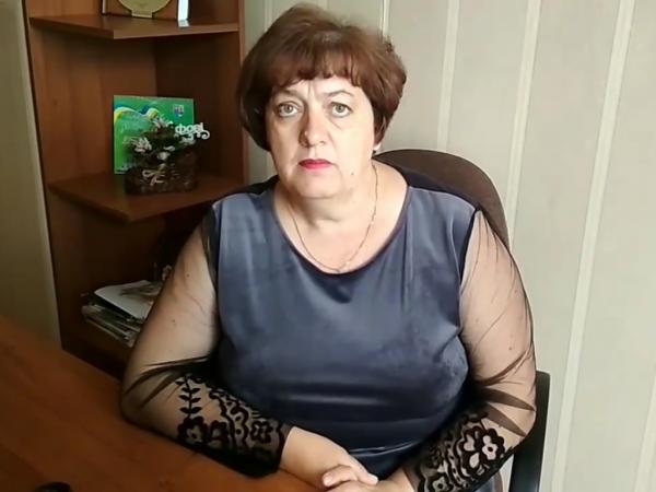 Начальниця відділу освіти, молоді та спорту Людмила Єрофєєва