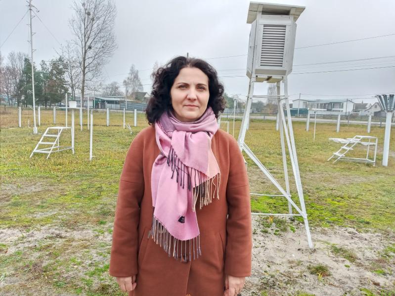 Руслана Вільнер, начальниця метеорологічної станції Світязь